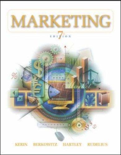 9780072553390: Marketing