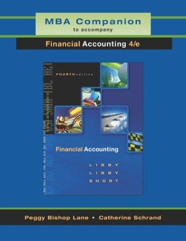 MBA Companion to accompany Financial Accounting: Robert Libby, Patricia
