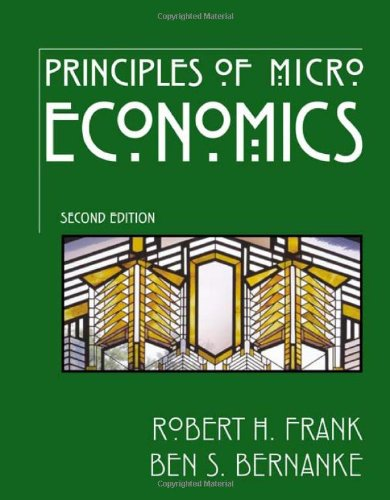 9780072554090: Principles of Microeconomics