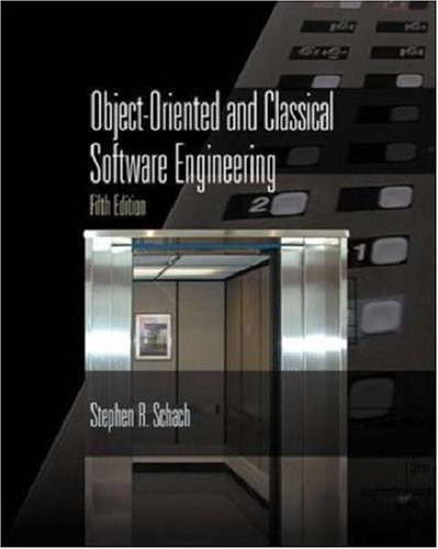 9780072554502: Object-Oriented and Classical Software Engineering