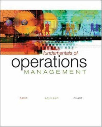 9780072554571: Fundamentals of Operations Management with Student CD-Rom
