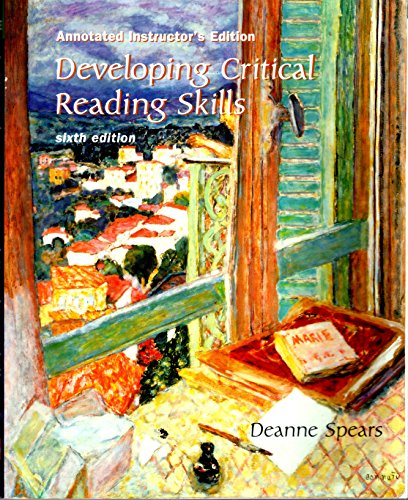 9780072554588: Developing Critical Reading Skills: Use 491329