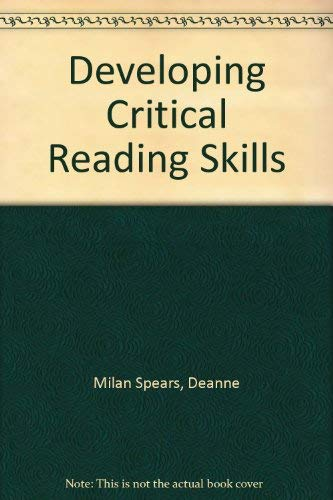 9780072554588: Developing Critical Reading Skills