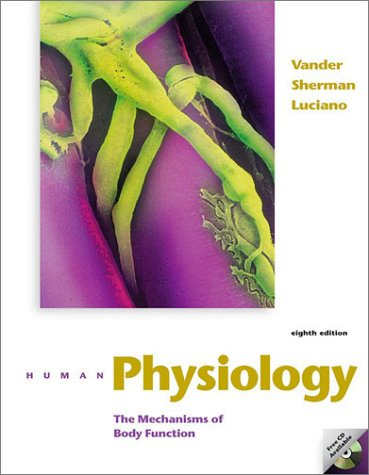 9780072554991: Human Physiology with OLC card and ESP CD-ROM