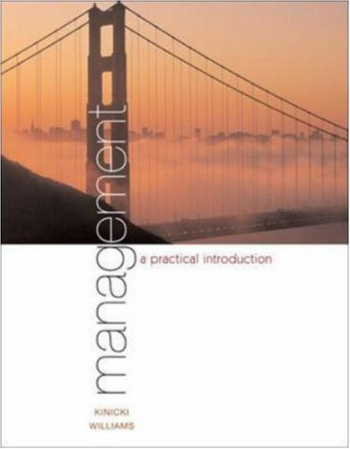 Management: A Practical Introduction with CD and: Angelo Kinicki, Brian