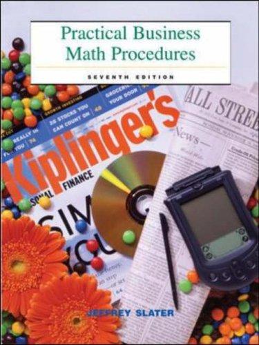 9780072555493: Practical Business Math Procedures with Business Math Handbook and Wall Street Journal Insert: Mandatory Package