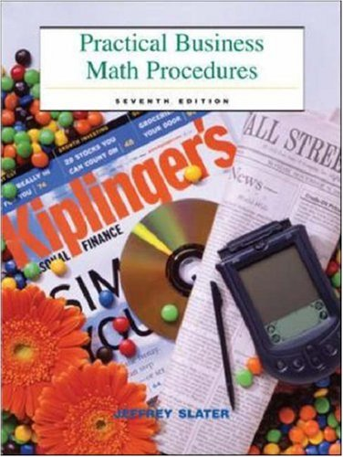 9780072555493: Practical Business Math Procedures: Mandatory Package with Business Math Handbook, DVD, and Wall Street Journal insert