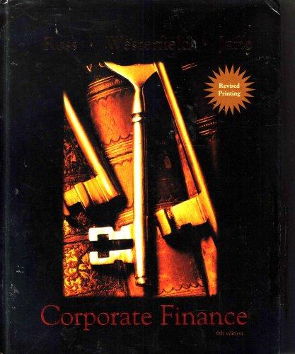 9780072555929: Corporate Finance