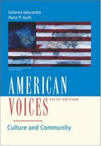 9780072556001: American Voices: Culture and Community