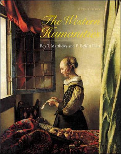 9780072556322: Western Humanities, Complete