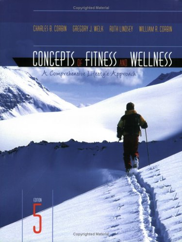 9780072556667: Concepts of Fitness and Wellness: A Comprehensive Lifestyle Approach