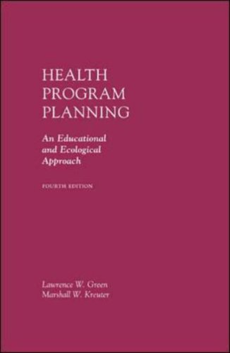 9780072556834: Health Program Planning: An Educational and Ecological Approach