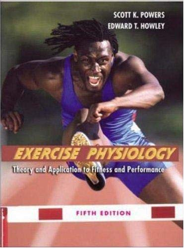 9780072557336: Exercise Physiology: Theory and Application to Fitness (READY NOTES)