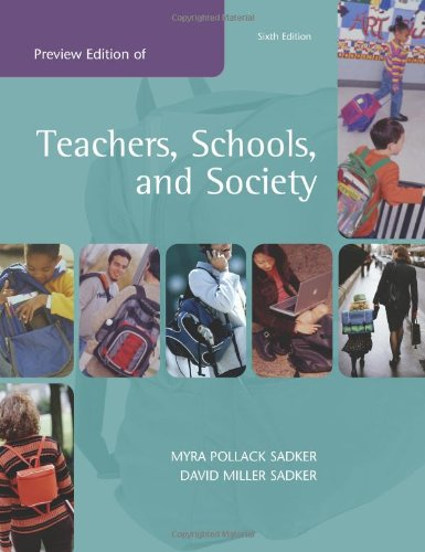 9780072558425: Teachers, Schools, and Society: With Free Making the Grade CD and Online Learning Center Password Card