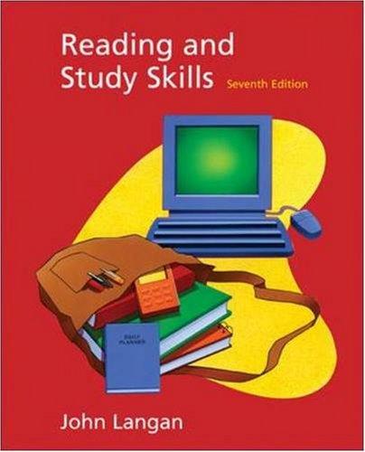 Reading and Study Skills with Student CD-ROM: John Langan