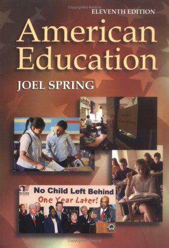 9780072558845: American Education