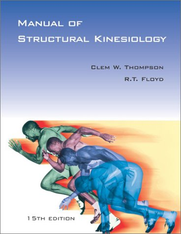 9780072558913: Manual of Structural Kinesiology