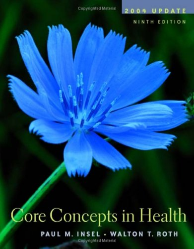 9780072559132: Core Concepts in Health: With Powerweb