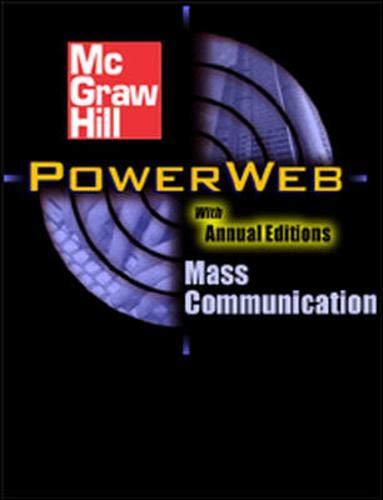 9780072559170: Mass Communication: Living in a Media World with Media World CD-Rom and PowerWeb