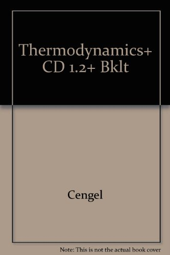 9780072559385: Thermodynamics: An Engineering Approach