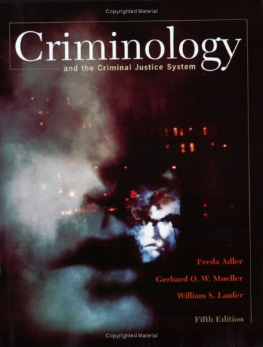 9780072559521: Criminology and the Criminal Justice System