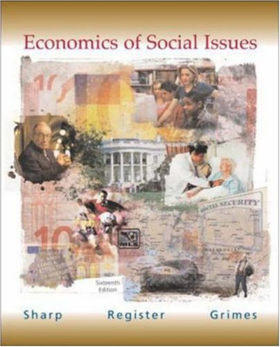 9780072559552: Economics of Social Issues