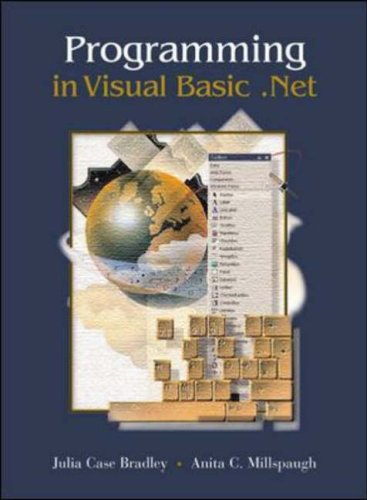 9780072559989: Programming Visual Basic .NET with Student CD