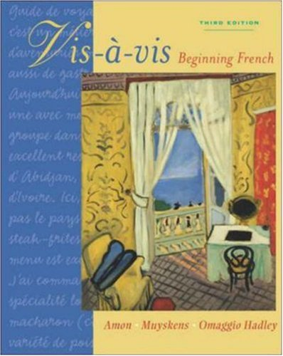 Vis-a-vis: Beginning French (Student Edition): Evelyne Amon, Judith