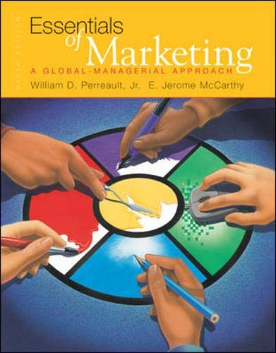 9780072561340: Essentials of Marketing Student Package #1(Text, Student CD, PowerWeb, & Applications in Basic Marketing '02-'03)
