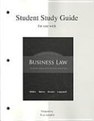 9780072562125: Student Study Guide t/a Business Law: The Ethical, Global, and E-Commerce Environment
