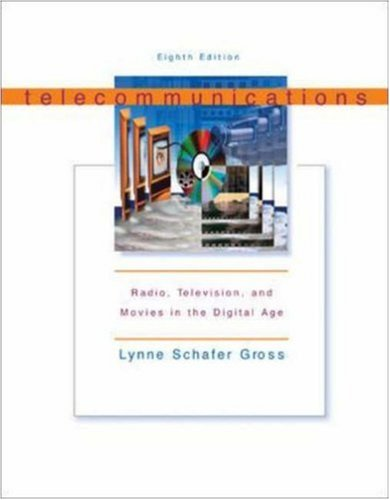 9780072562316: Telecommunications: Radio, Television and Movies in the Digital Age with Free Student CD-ROM