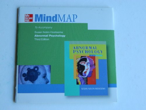 9780072562545: Mind Map to Accompany Abnormal Psychology