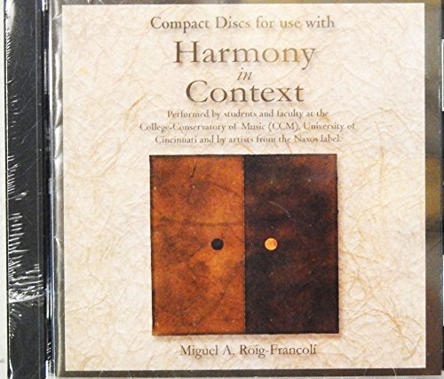 9780072562781: Audio CD for use with Harmony in Context