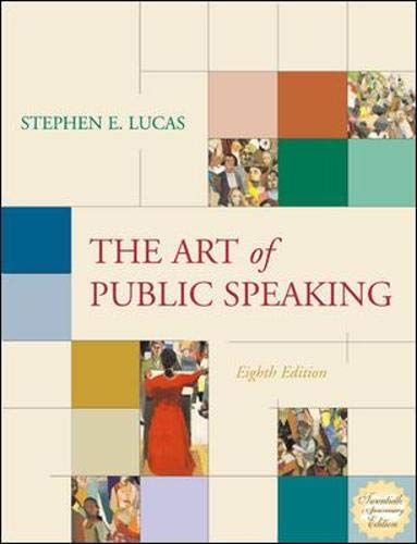 9780072562965: The Art of Public Speaking