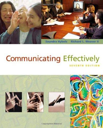 9780072563979: Communicating Effectively