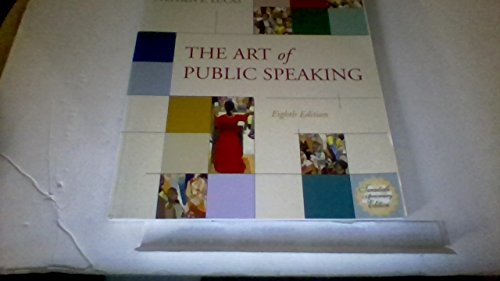 9780072564075: Student Workbook for use with The Art of Public Speaking