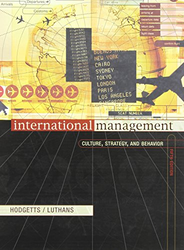 9780072564303: International Management: Culture, Strategy, and Behavior with World Map
