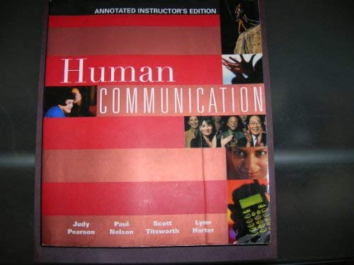9780072564761: Human Communication