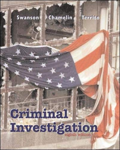 9780072564938: Criminal Investigation with Free