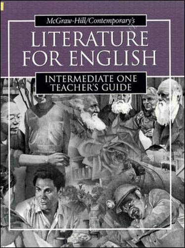 9780072565164: Literature for English Intermediate One Teacher's Guide