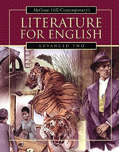 9780072565256: Literature for English Advanced Two, Student Text