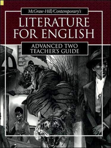 9780072565263: Literature for English, Advanced Two - Teacher's Guide