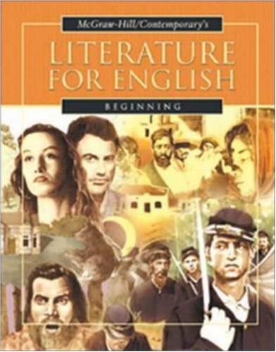 9780072565300: Literature for English Beginning, Student Text