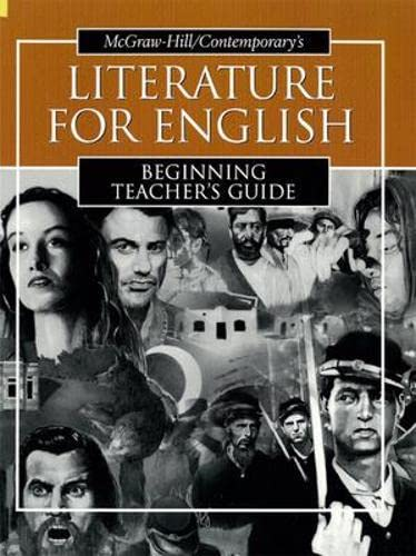9780072565317: Literature for English: Beginning Teacher's Guide