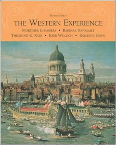 9780072565447: The Western Experience with Powerweb