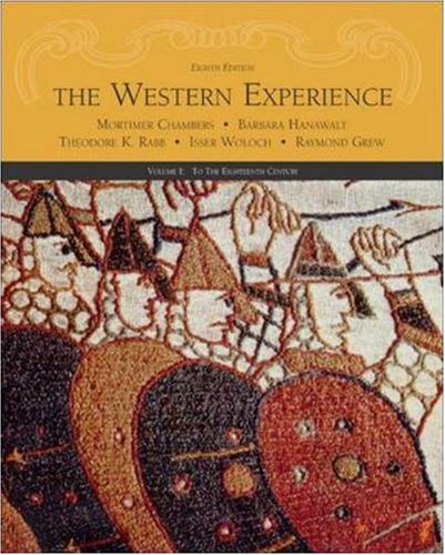 9780072565454: The Western Experience, Volume I, with Powerweb