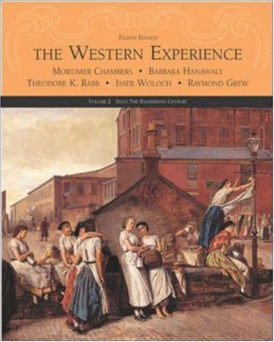 9780072565461: The Western Experience, Volume II, with Powerweb: v. 2