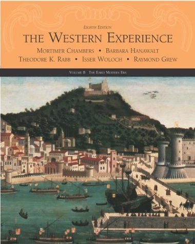 9780072565492: The Western Experience, Volume B, with Powerweb