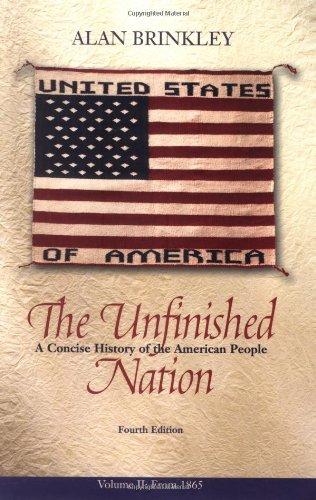 9780072565638: The Unfinished Nation: A Concise History of the American People, Volume 2