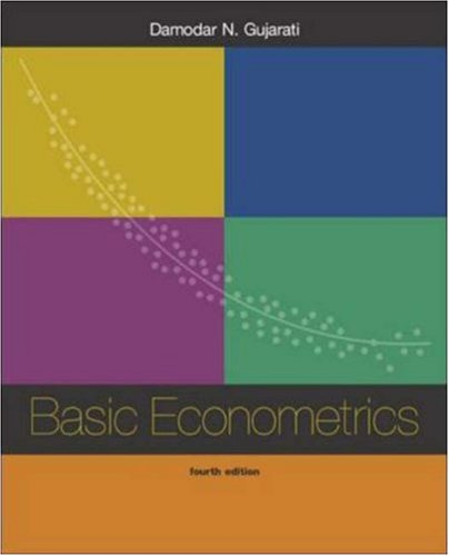 9780072565706: Basic Econometrics: With Software Disk Package and EViews CD